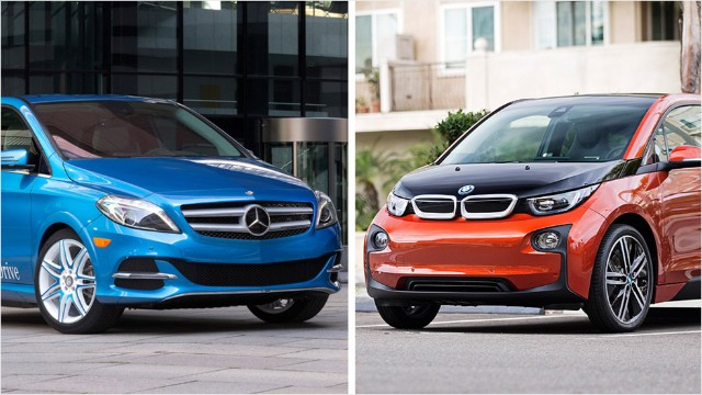 Bmw Mercedes Take Different Roads On Electric Cars