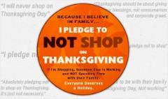 Shoppers may boycott Black Friday Thursday