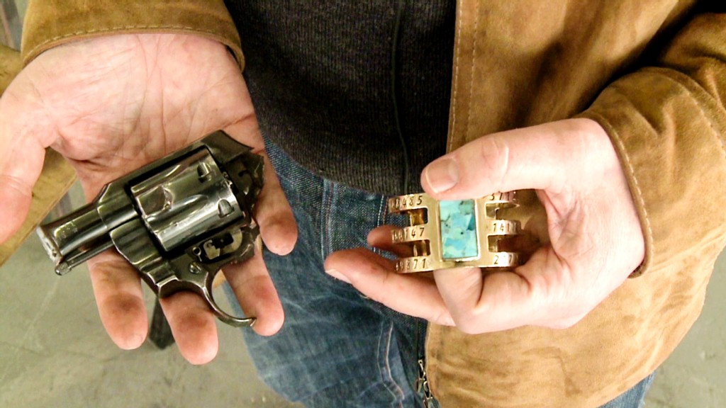 Turning America's street guns into jewelry