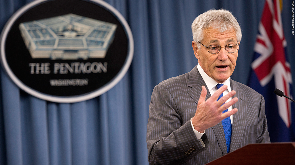 chuck hagel pentagon cuts