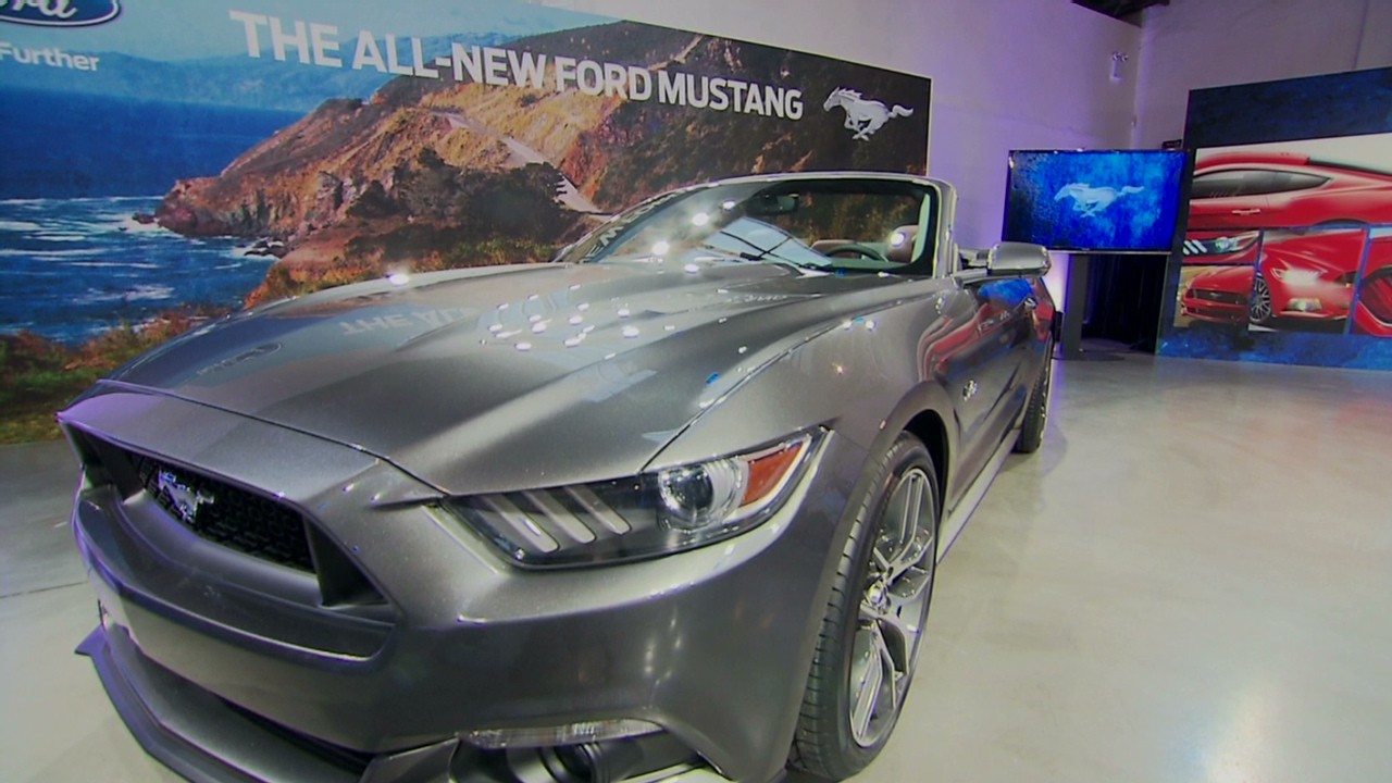 Ford Mustang goes global - Video - Business News