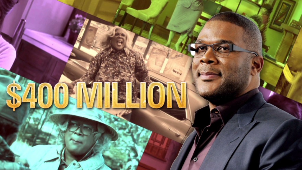 Tyler Perry's $400 million empire
