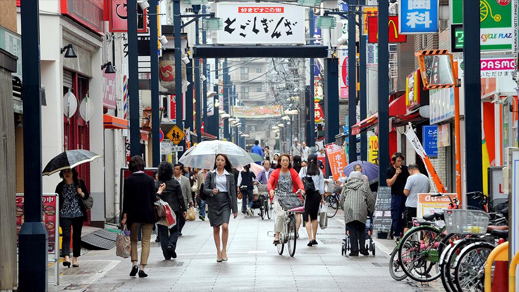 worst economy japan