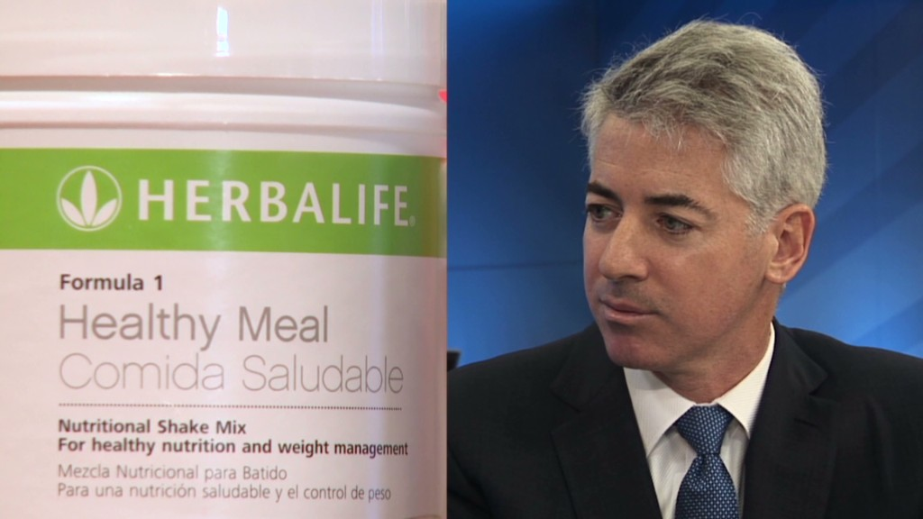 Herbalife squeezes Ackman badly