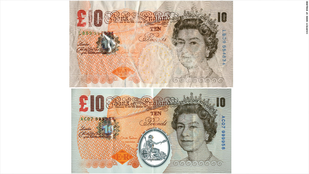 uk polymer bank note