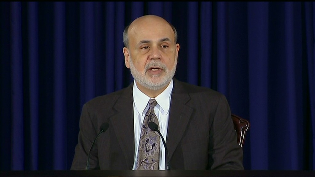 Bernanke on Fed taper in 90 seconds