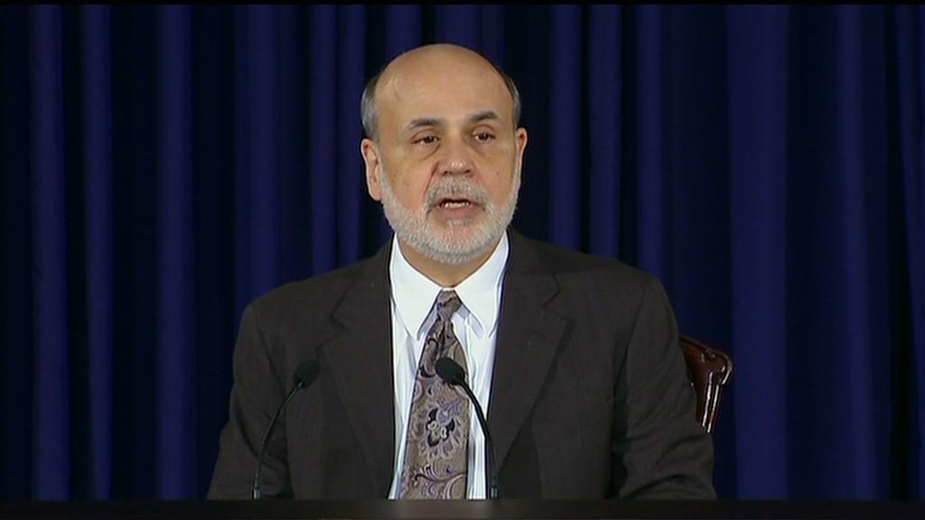 Bernanke on Fed taper in 90 seconds
