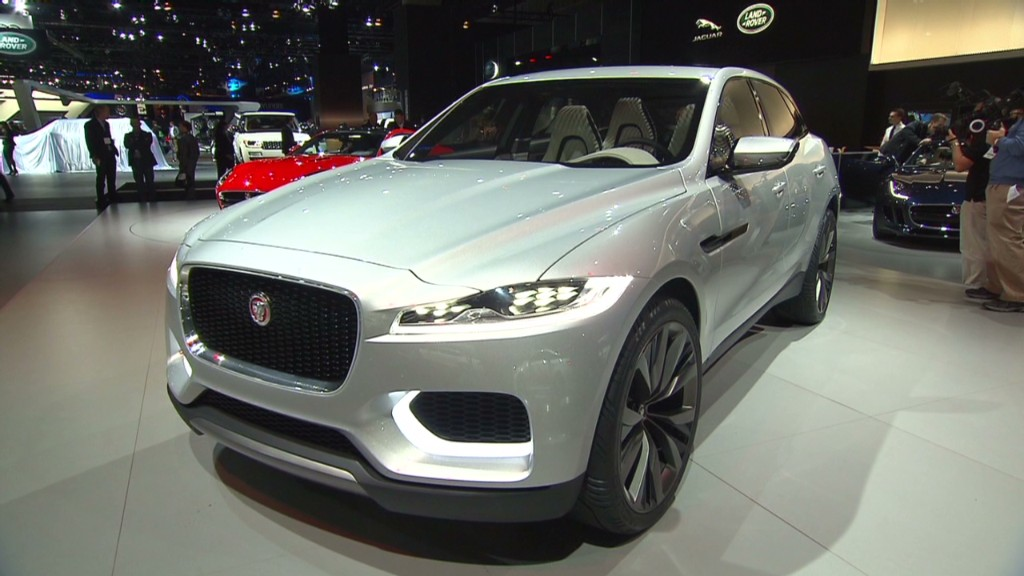 Jaguar's crossover prototype: The CX17