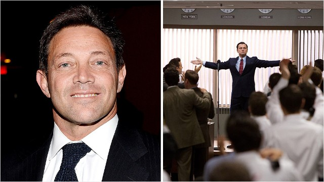 jordan belfort the wolf  Real 'Wolf of Wall Street' says he will give film royalties to victims