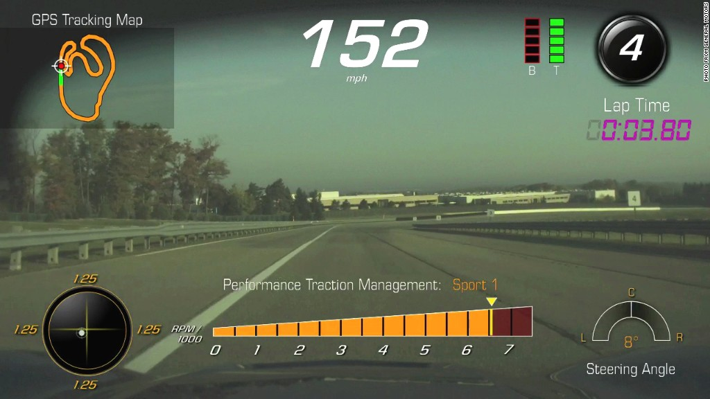 corvette stingray dashcam