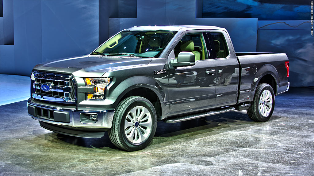 Un-heavy metal - Evolution of the Ford F-150 - CNNMoney