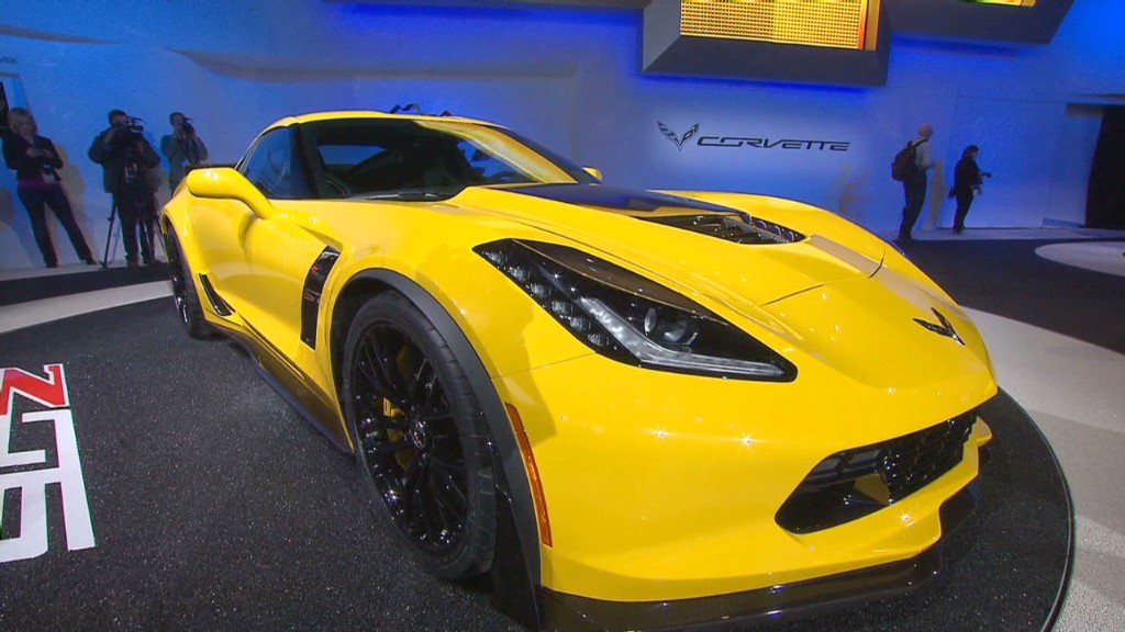Corvette Z06: Race-bred power