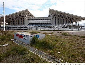 olympics spending athens