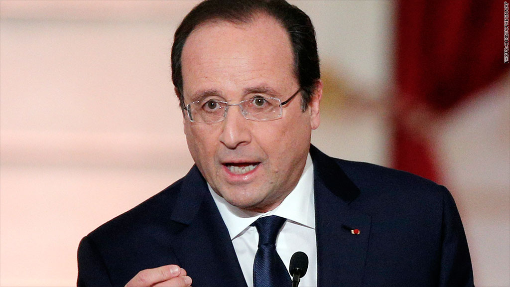 francois hollande press conference