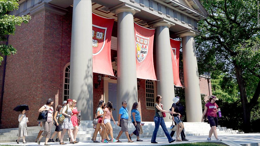 harvard college tour