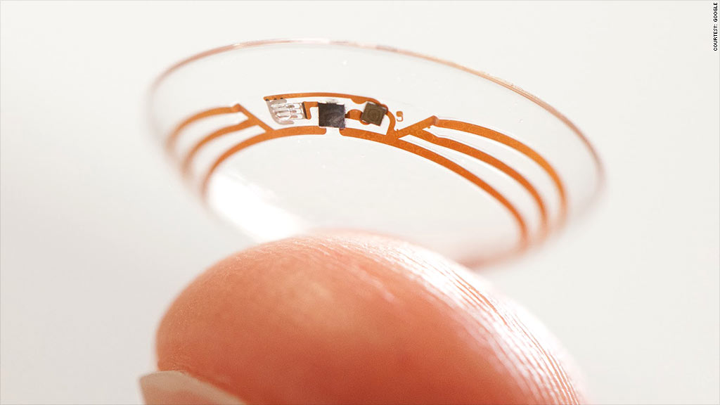 Google to make smart contact lenses