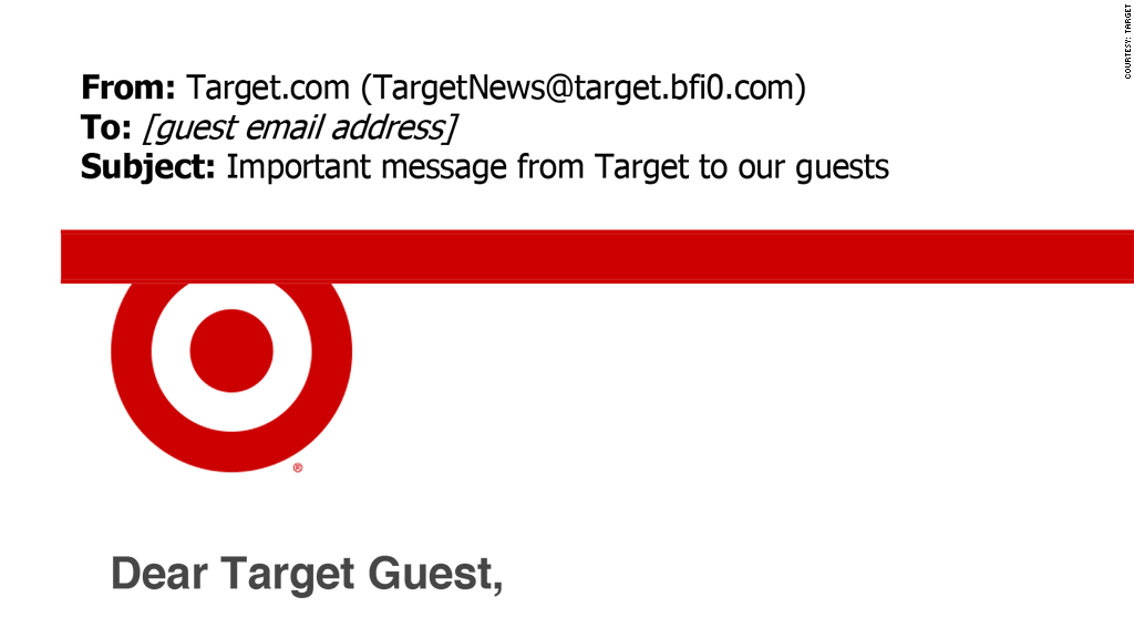 target security breach email