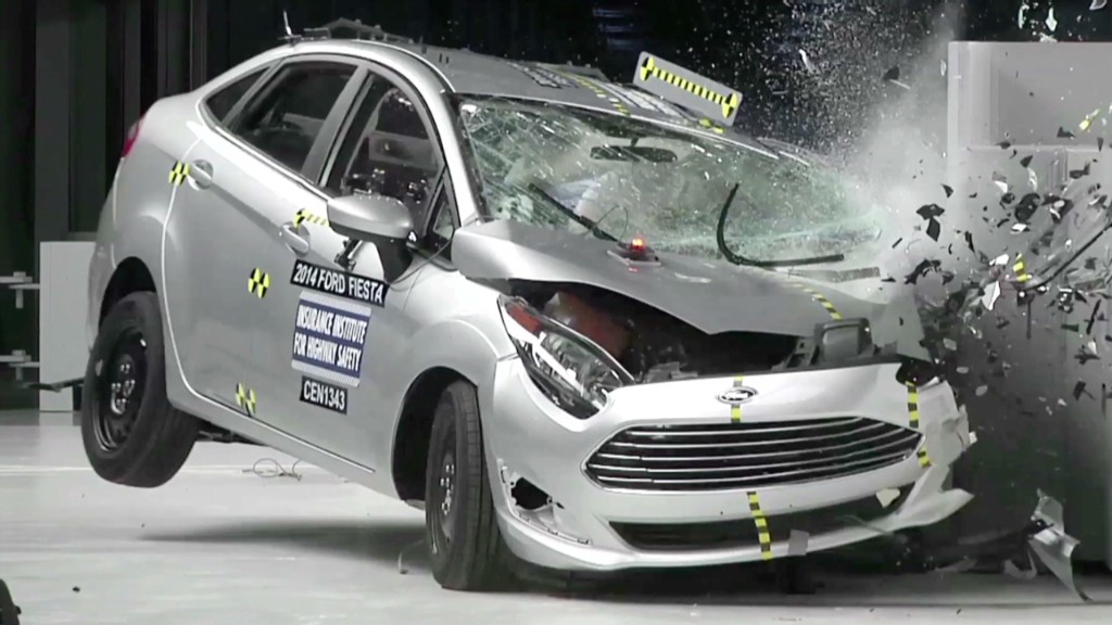 Tiny cars flunk crash test