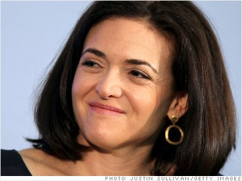 Facebook's Sandberg is now a billionaire
