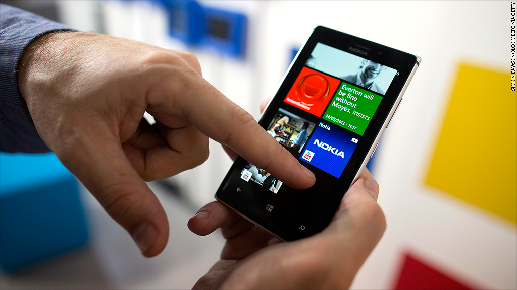 Nokia's Lumia sales slump