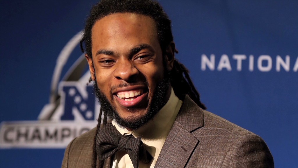 Will advertisers flock to Richard Sherman?