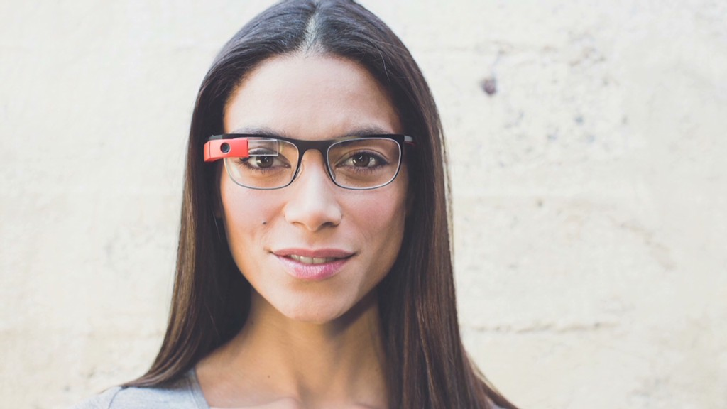 See the new Google Glasses