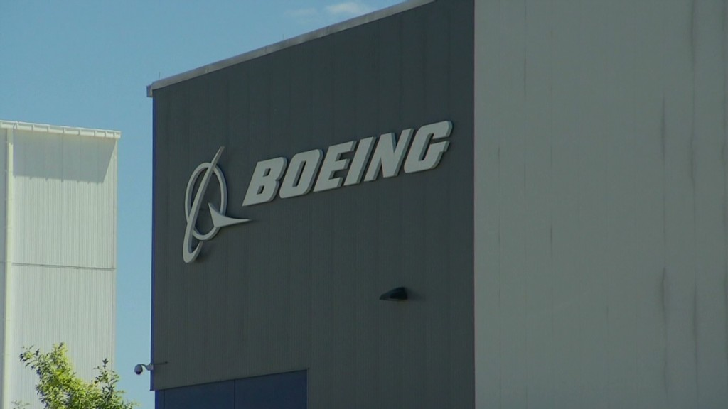 Boeing stock gets grounded