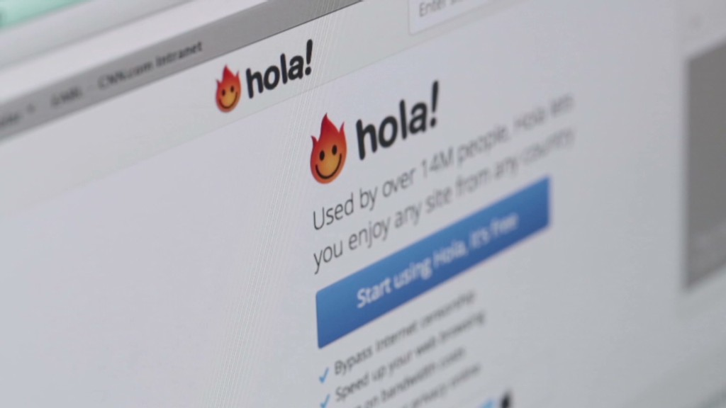 An app to get around firewalls