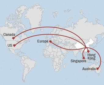 china map rich
