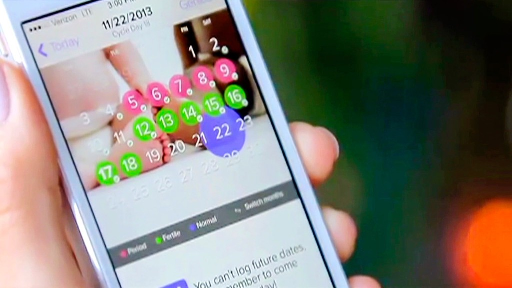 App can help you get pregnant