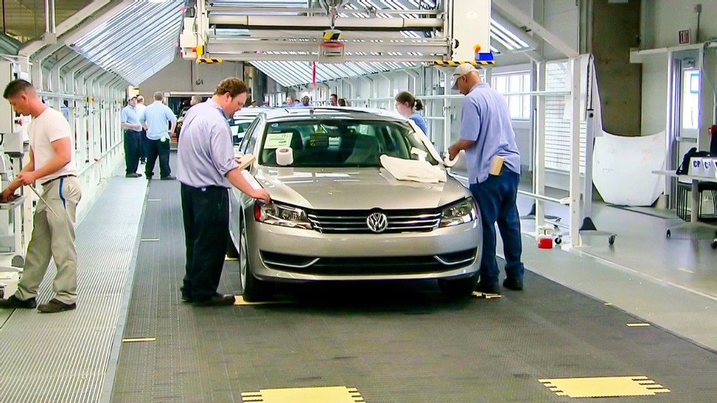 VW's Passat, made in Tennessee