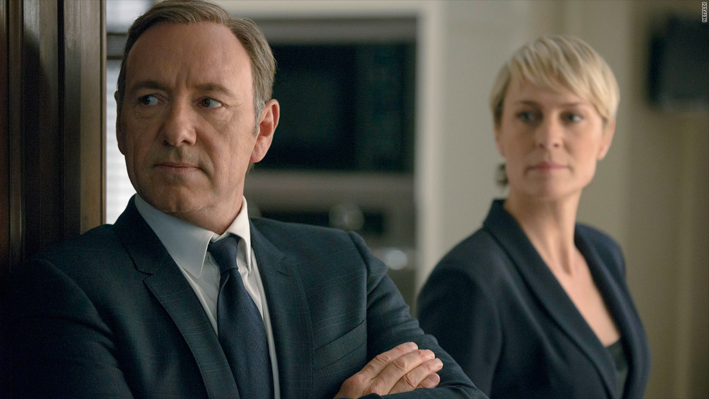 netflix house of cards streams