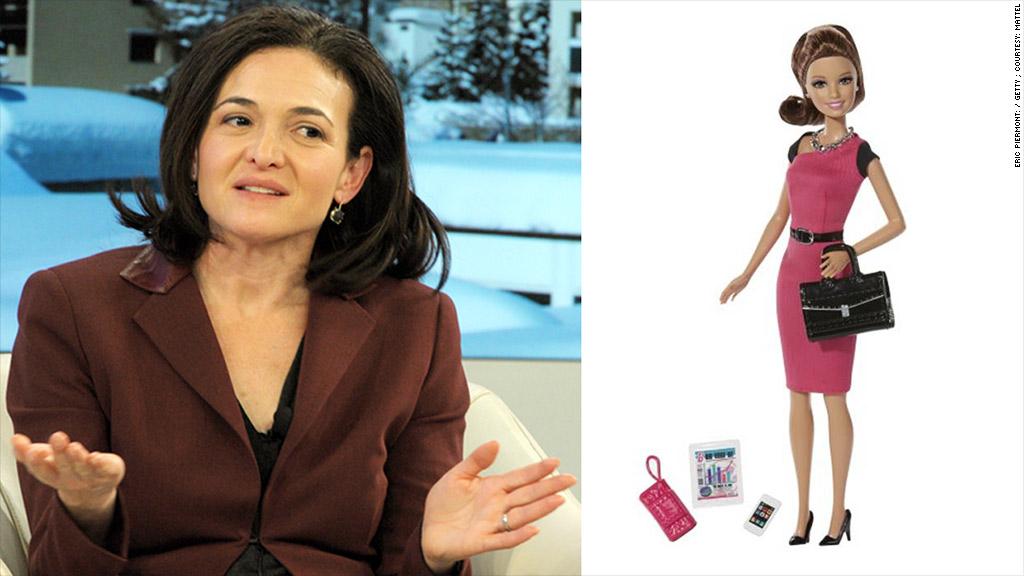 sheryl sandberg barbie