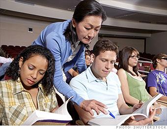 minimum wage jobs adjunct professor