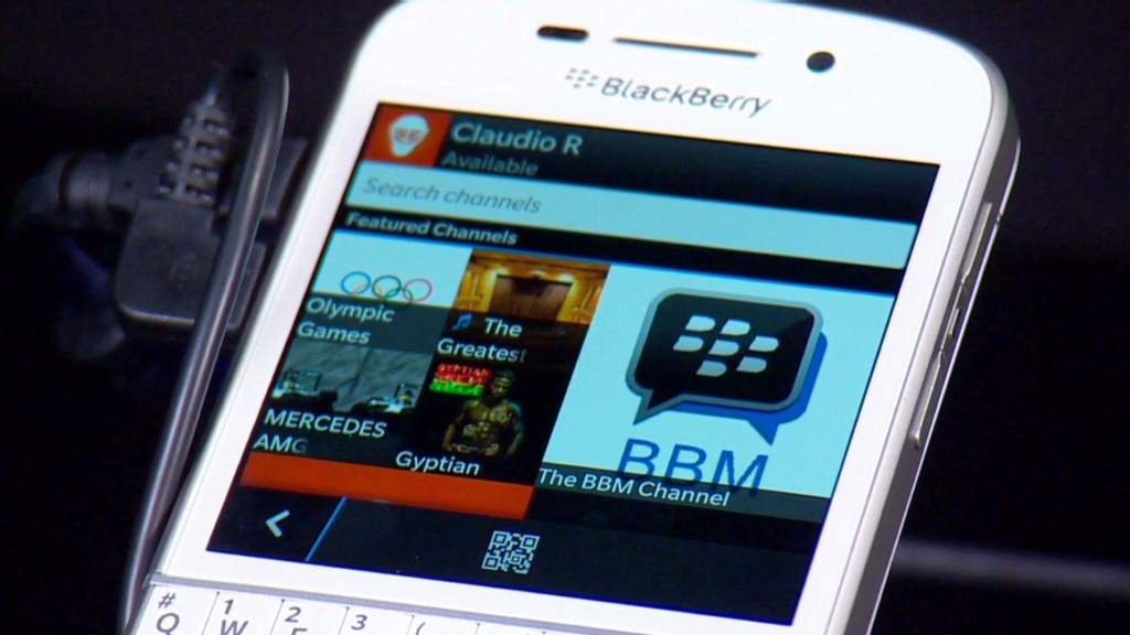 BlackBerry's turnaround strategy