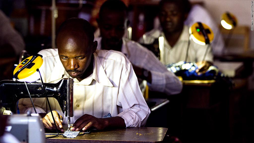 Solar lamps help rural villages