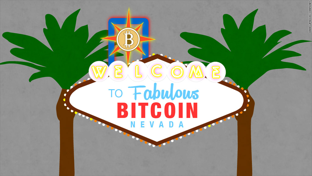 bitcoin vegas sign