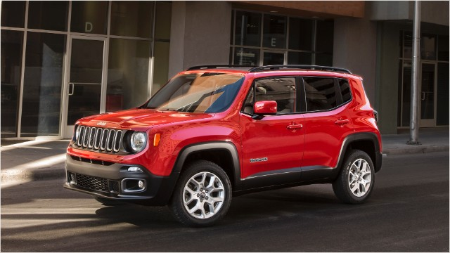 The 2017 Renegade Is Jeep S New Small Suv It Expected To Go On Later This Year