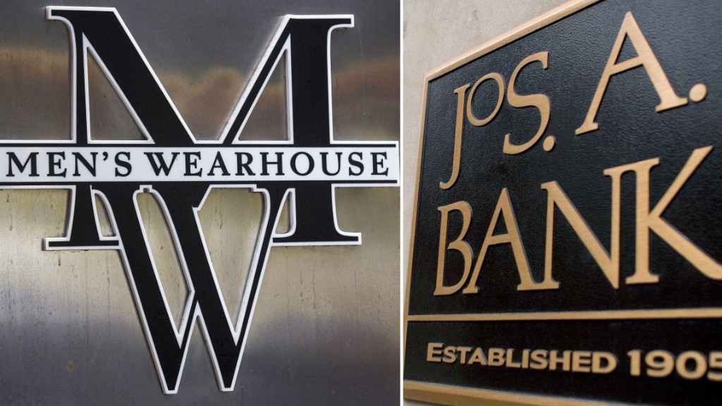 mens warehouse jos bank