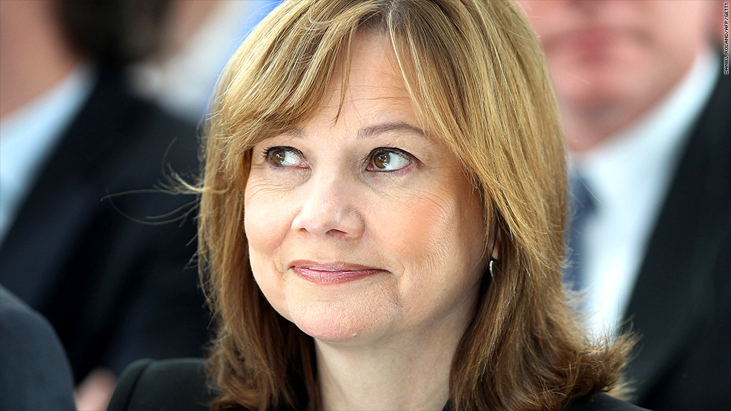 mary barra gm recall