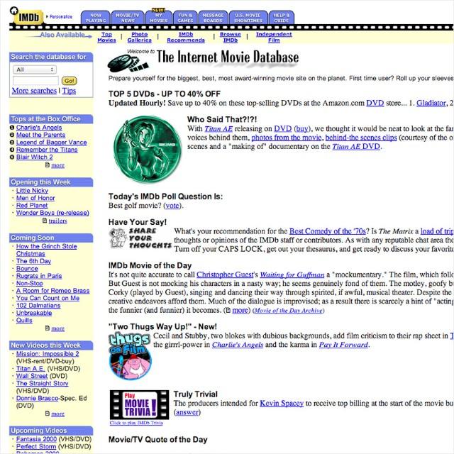9 Website Pioneers