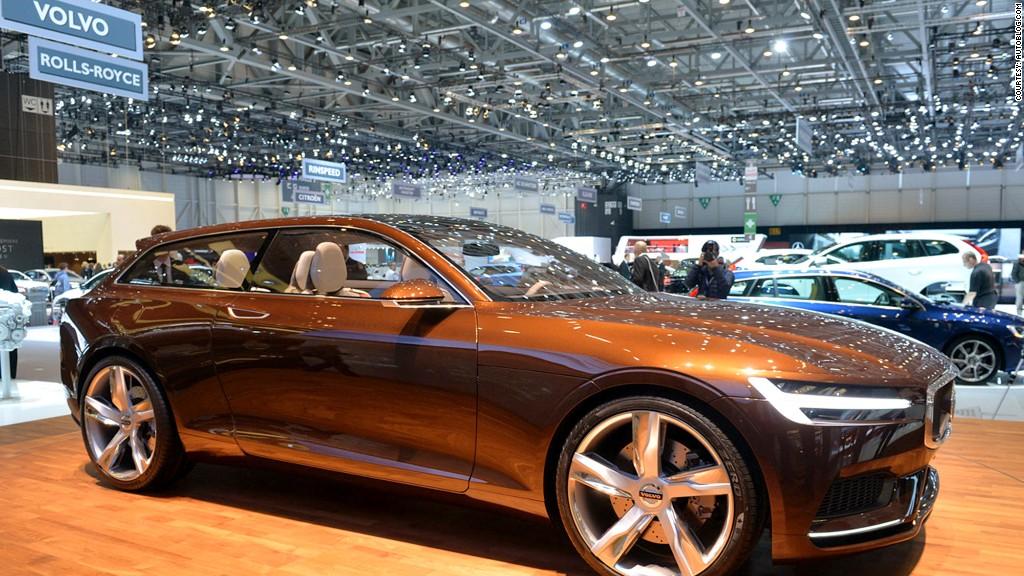 Volvo Concept Estate - Hot cars from the Geneva Motor Show - CNNMoney