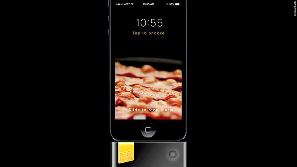 bacon alarm clock