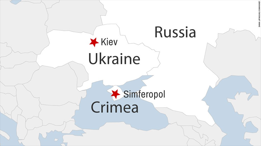 Of Crimea In Ukraine Russian