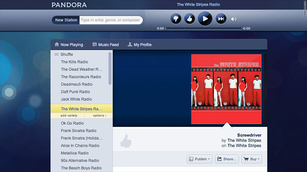 Pandora raises subscription fees