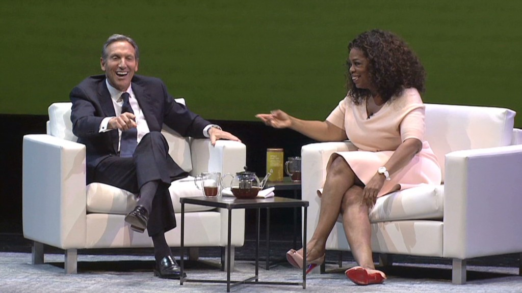 How Starbucks hooked Oprah
