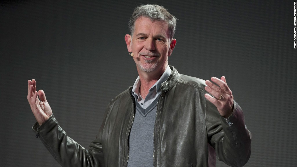 reed hastings net neutrality