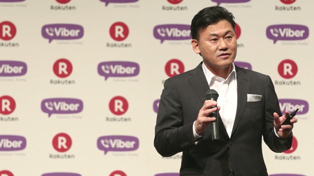 Japan's Jeff Bezos on $900M Viber buy