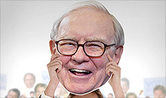 Buy a Warren Buffett Fathead for $29.99