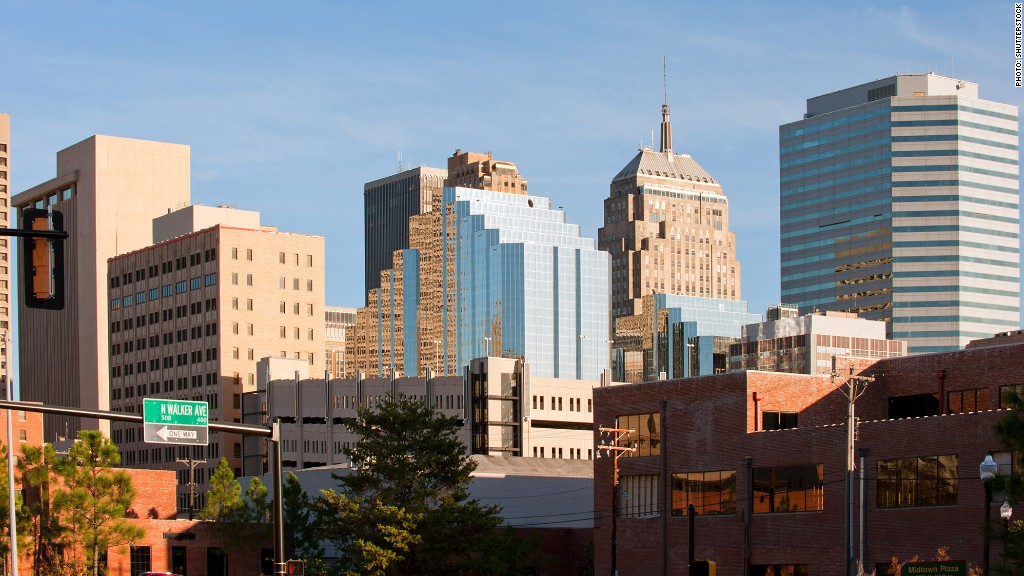 fastest growing metro areas oklahoma city